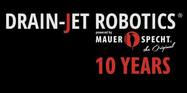 10 Years DRAIN-JET ROBOTICS